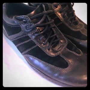 Rockport Walkability lace casual sneakers,black